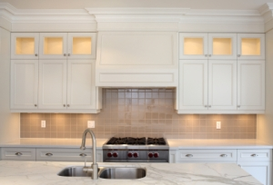 Contemporary Glass Kitchen Cabinets